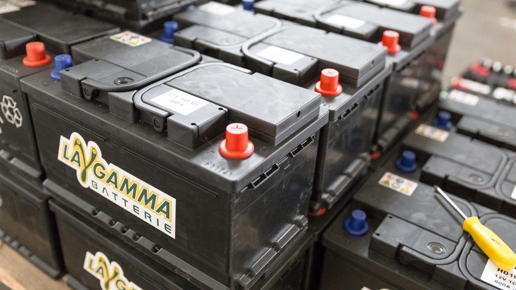 vendita batterie accumulatori la gamma commerciale san salvo