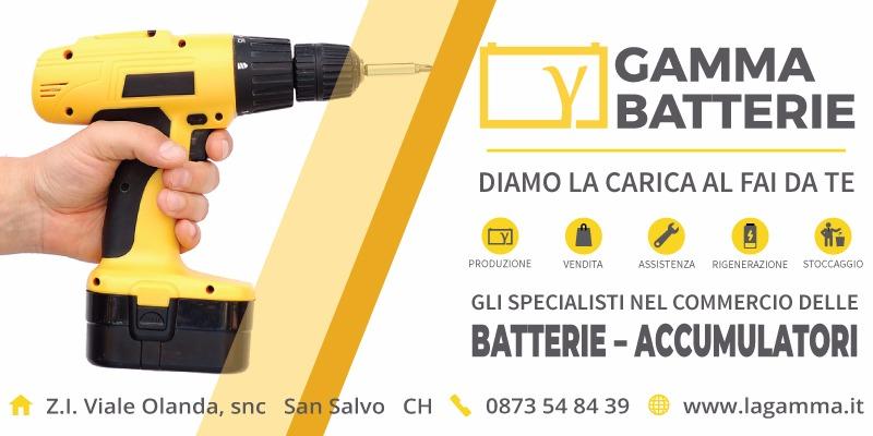 batterie accumulatori elettroutensili lagamma san salvo vasto abruzzo italia
