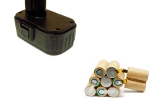 rrigenerazione batterie per elettroutensili